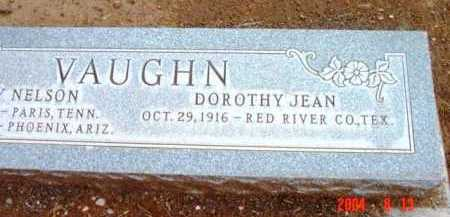VAUGHN, DOROTHY JEAN - Yavapai County, Arizona | DOROTHY JEAN VAUGHN - Arizona Gravestone Photos