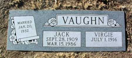 VAUGHN, JACK - Yavapai County, Arizona | JACK VAUGHN - Arizona Gravestone Photos