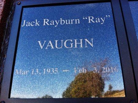 VAUGHN, JACK RAYBURN (RAY) - Yavapai County, Arizona | JACK RAYBURN (RAY) VAUGHN - Arizona Gravestone Photos
