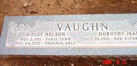 VAUGHN, RIPLEY NELSON - Yavapai County, Arizona | RIPLEY NELSON VAUGHN - Arizona Gravestone Photos