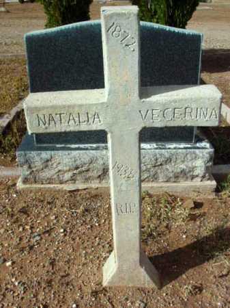 VECERINA, NATALIA - Yavapai County, Arizona   NATALIA VECERINA - Arizona Gravestone Photos