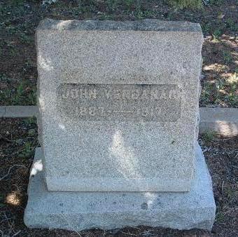 VERBANAC, JOHN - Yavapai County, Arizona | JOHN VERBANAC - Arizona Gravestone Photos