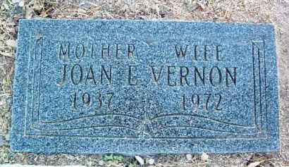 VERNON, JOAN E. - Yavapai County, Arizona | JOAN E. VERNON - Arizona Gravestone Photos