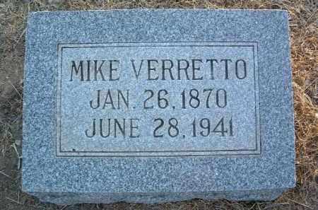 VERRETTO, MICHAEL (MIKE) - Yavapai County, Arizona   MICHAEL (MIKE) VERRETTO - Arizona Gravestone Photos