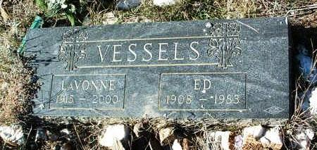 VESSELS, EDWARD A. (ED) - Yavapai County, Arizona | EDWARD A. (ED) VESSELS - Arizona Gravestone Photos
