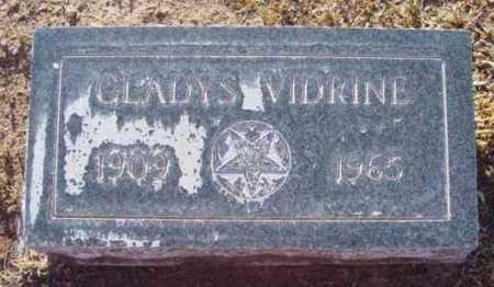 JORDAN VIDRINE, GLADYS I. - Yavapai County, Arizona | GLADYS I. JORDAN VIDRINE - Arizona Gravestone Photos