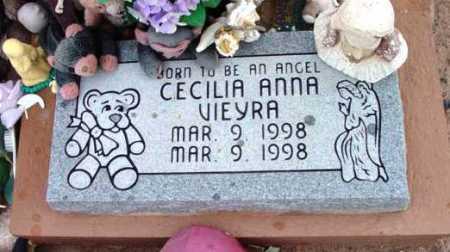 VIEYRA, CECILIA ANNA - Yavapai County, Arizona | CECILIA ANNA VIEYRA - Arizona Gravestone Photos