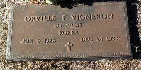 VIGERON, ORVILLE F. - Yavapai County, Arizona | ORVILLE F. VIGERON - Arizona Gravestone Photos