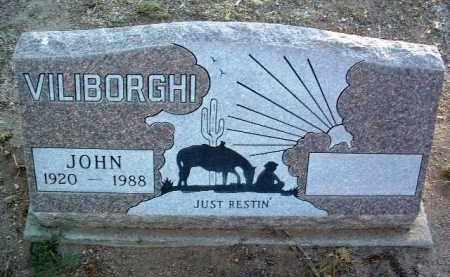 VILIBORGHI, JOHN W. - Yavapai County, Arizona   JOHN W. VILIBORGHI - Arizona Gravestone Photos