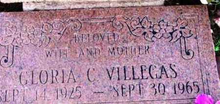 VILLEGAS, GLORIA C. - Yavapai County, Arizona | GLORIA C. VILLEGAS - Arizona Gravestone Photos