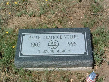 VOLLER, HELEN BEATRICE - Yavapai County, Arizona | HELEN BEATRICE VOLLER - Arizona Gravestone Photos