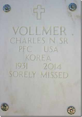 VOLLMER, CHARLES N., SR. - Yavapai County, Arizona | CHARLES N., SR. VOLLMER - Arizona Gravestone Photos