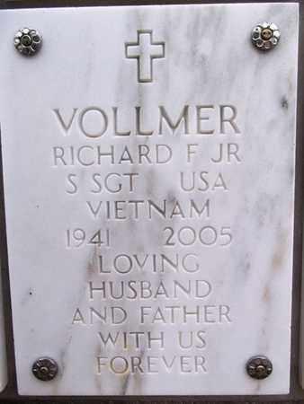 VOLLMER, RICHARD FREDERICK - Yavapai County, Arizona   RICHARD FREDERICK VOLLMER - Arizona Gravestone Photos