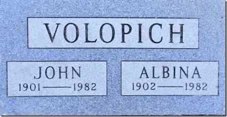 VOLOPICH, ALBINA - Yavapai County, Arizona | ALBINA VOLOPICH - Arizona Gravestone Photos