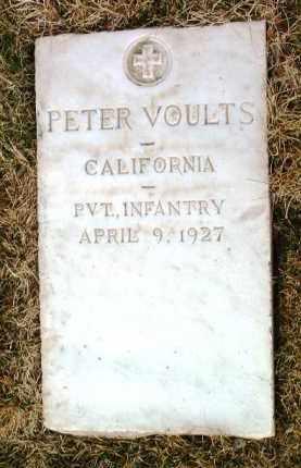 VOULTS, PETER - Yavapai County, Arizona   PETER VOULTS - Arizona Gravestone Photos