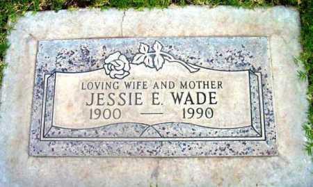 BREWER WADE, JESSIE E. - Yavapai County, Arizona | JESSIE E. BREWER WADE - Arizona Gravestone Photos