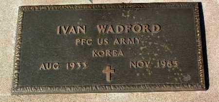 WADFORD, IVAN - Yavapai County, Arizona   IVAN WADFORD - Arizona Gravestone Photos