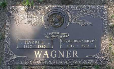 WAGNER, GERALDINE E. - Yavapai County, Arizona | GERALDINE E. WAGNER - Arizona Gravestone Photos