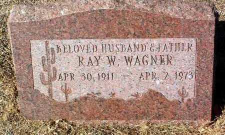 WAGNER, RAYMOND W. - Yavapai County, Arizona   RAYMOND W. WAGNER - Arizona Gravestone Photos