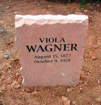 THOMPSON WAGNER, VIOLA - Yavapai County, Arizona | VIOLA THOMPSON WAGNER - Arizona Gravestone Photos