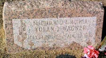 WAGNER, YOLAN THERESA - Yavapai County, Arizona | YOLAN THERESA WAGNER - Arizona Gravestone Photos
