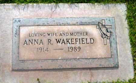 WAKEFIELD, ANNA ROSETTA - Yavapai County, Arizona | ANNA ROSETTA WAKEFIELD - Arizona Gravestone Photos