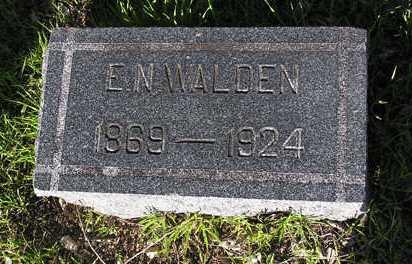 WALDEN, E. N. - Yavapai County, Arizona | E. N. WALDEN - Arizona Gravestone Photos