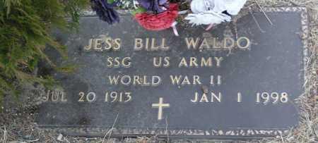 WALDO, JESS W. BILL - Yavapai County, Arizona | JESS W. BILL WALDO - Arizona Gravestone Photos