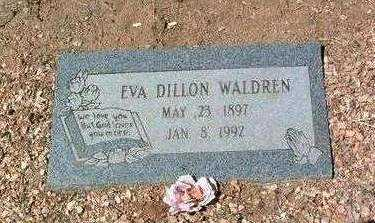 SIMMONS DILLON, EVA - Yavapai County, Arizona | EVA SIMMONS DILLON - Arizona Gravestone Photos