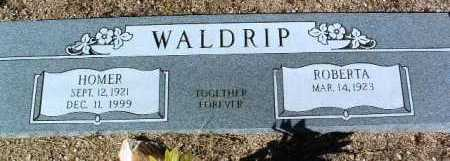 ROBINSON WALDRIP, R. - Yavapai County, Arizona | R. ROBINSON WALDRIP - Arizona Gravestone Photos