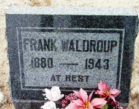 WALDROUP, FRANK - Yavapai County, Arizona   FRANK WALDROUP - Arizona Gravestone Photos