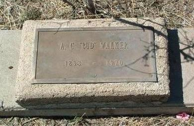 WALKER, A. C. (BUD) - Yavapai County, Arizona | A. C. (BUD) WALKER - Arizona Gravestone Photos