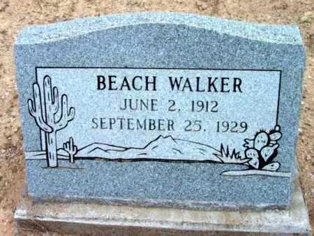 WALKER, BEACH - Yavapai County, Arizona   BEACH WALKER - Arizona Gravestone Photos