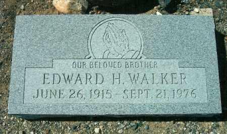 WALKER, EDWARD H - Yavapai County, Arizona | EDWARD H WALKER - Arizona Gravestone Photos