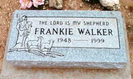 WALKER, FRANCIS (FRANKIE) - Yavapai County, Arizona | FRANCIS (FRANKIE) WALKER - Arizona Gravestone Photos