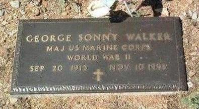 WALKER, GEORGE SONNY - Yavapai County, Arizona | GEORGE SONNY WALKER - Arizona Gravestone Photos