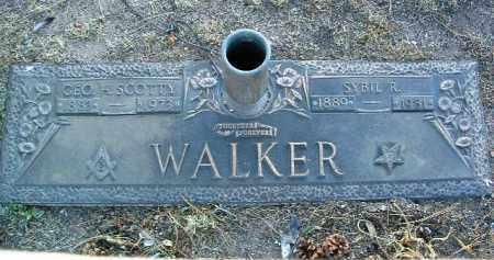 WALKER, SYBIL R. - Yavapai County, Arizona | SYBIL R. WALKER - Arizona Gravestone Photos