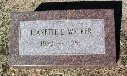 WALKER, JEANETTE EVELYN - Yavapai County, Arizona | JEANETTE EVELYN WALKER - Arizona Gravestone Photos