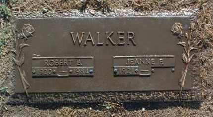 WALKER, JEANNE F. - Yavapai County, Arizona | JEANNE F. WALKER - Arizona Gravestone Photos