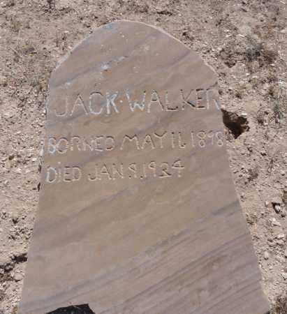 WALKER, JACK - Yavapai County, Arizona | JACK WALKER - Arizona Gravestone Photos