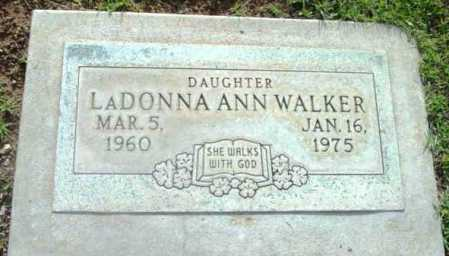 WALKER, LADONNA ANN - Yavapai County, Arizona   LADONNA ANN WALKER - Arizona Gravestone Photos