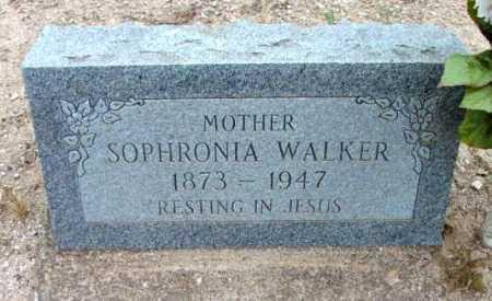 BEACH WALKER, SOPHRONIA - Yavapai County, Arizona | SOPHRONIA BEACH WALKER - Arizona Gravestone Photos