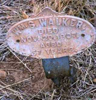 WALKER, WILLIAM S. (BILLY) - Yavapai County, Arizona | WILLIAM S. (BILLY) WALKER - Arizona Gravestone Photos