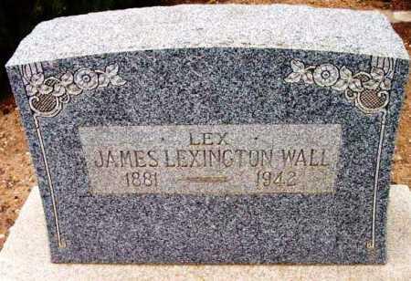 WALL, JAMES LEXINGTON - Yavapai County, Arizona   JAMES LEXINGTON WALL - Arizona Gravestone Photos