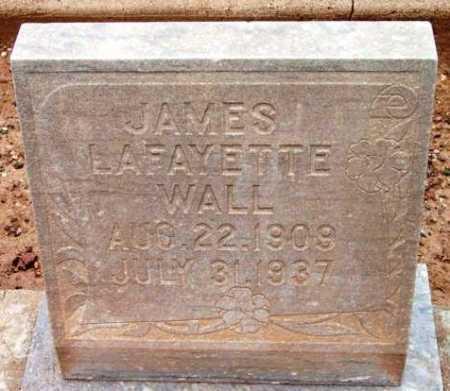 WALL, JAMES LAFAYETTE - Yavapai County, Arizona | JAMES LAFAYETTE WALL - Arizona Gravestone Photos