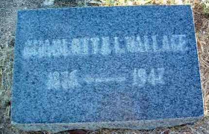WALLACE, CHARLOTTE L. - Yavapai County, Arizona | CHARLOTTE L. WALLACE - Arizona Gravestone Photos