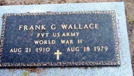 WALLACE, FRANK G. - Yavapai County, Arizona | FRANK G. WALLACE - Arizona Gravestone Photos