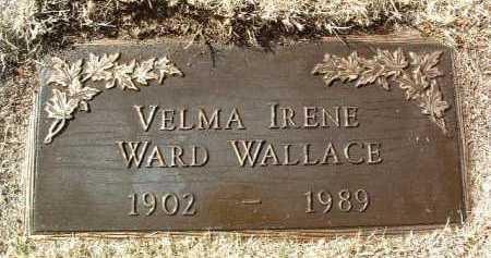 WARD, VELMA IRENE - Yavapai County, Arizona   VELMA IRENE WARD - Arizona Gravestone Photos