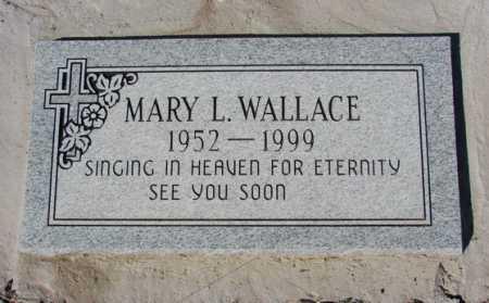 WALLACE, MARY L. - Yavapai County, Arizona | MARY L. WALLACE - Arizona Gravestone Photos