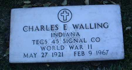 WALLING, CHARLES E. - Yavapai County, Arizona | CHARLES E. WALLING - Arizona Gravestone Photos